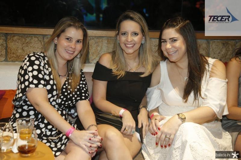 Adriana Loureiro, Aline Amorim e Ana Joca