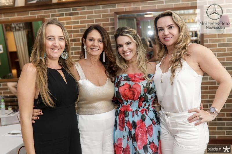 Karine Arrais, Marcia Barros, Pauliane Campos e Jeane Freire