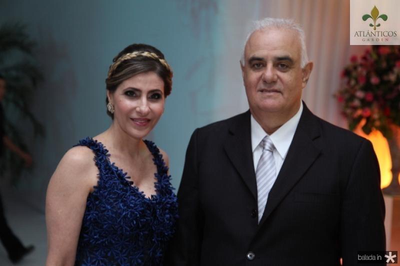 Desine Roque e Ricardo Sahd