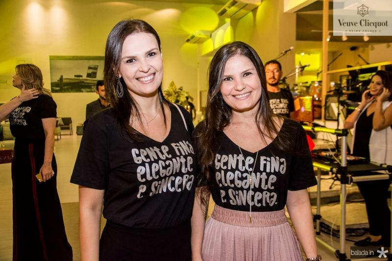 Marilia Gomes e Bruna Morais