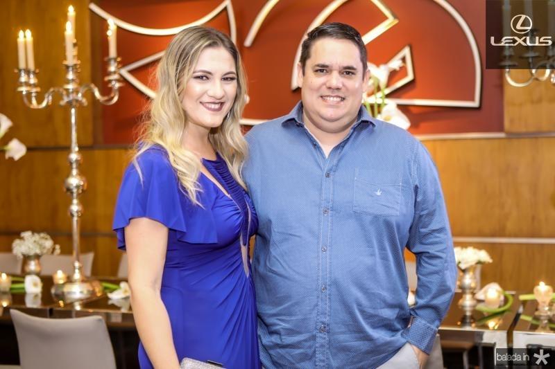 Lorena Albuquerque e Edgar Damasceno
