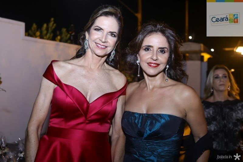 Cristine Basto e Denise Rolim