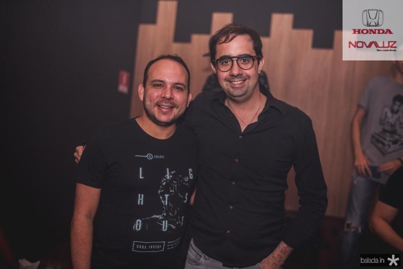 Daniel Meireles e Pedro de Castro