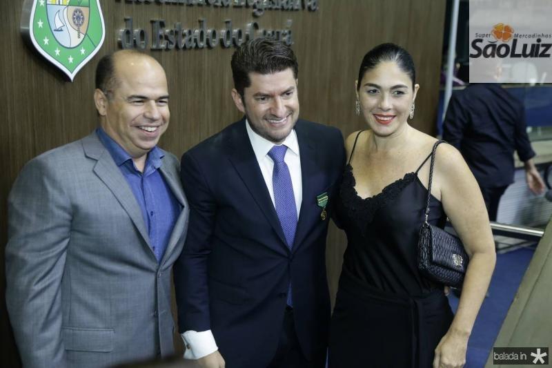 Marcio Menezes, Paulo Jose Benevides e Isabela Fiuza