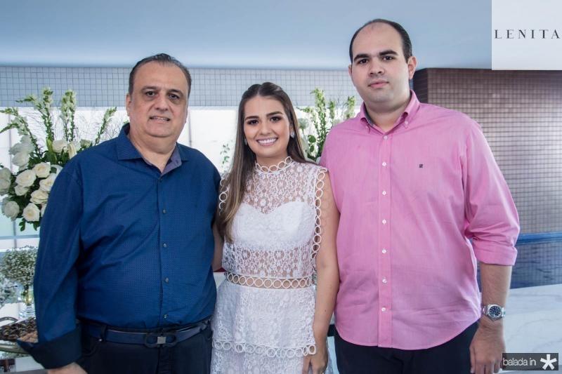 Max, Manuela e Jorio Câmara