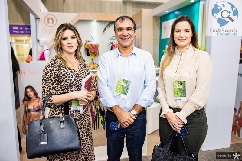 Erika Gomes, Eduardo Neves e Thais Cunha