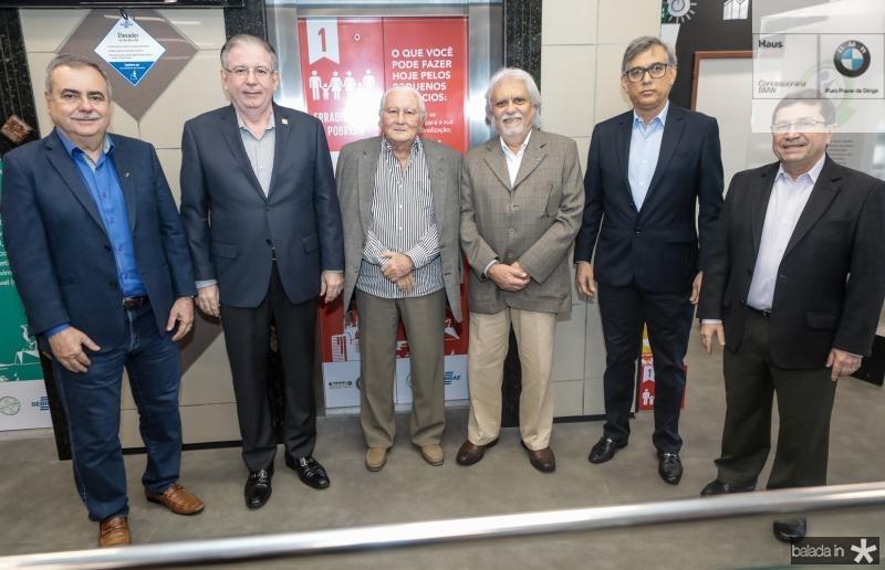 Assis Cavalcante, Ricardo Cavalcante, Chico Barreto, Joaquim Cartaxo, Cid Alves e Alcir Porto