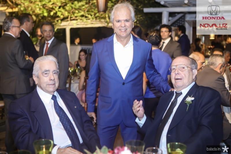 Everado Moises, Ricardo Rolim e Edson Ventura