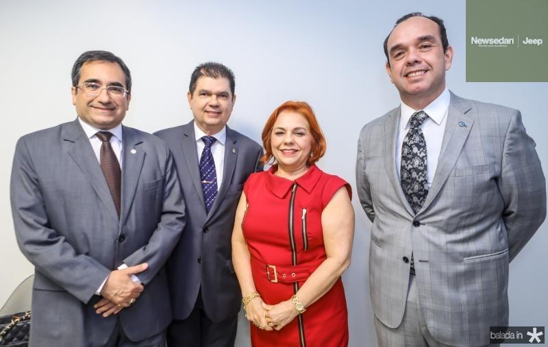Jardson Cruz, Mauro Filho, Vanja Fontenele e Valdir Xavier