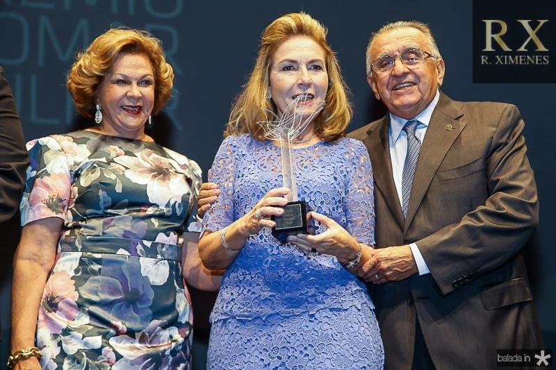 Auxiliadora Paes Mendonça, Gorete Arruda e Joao Carlos Paes Mendonça