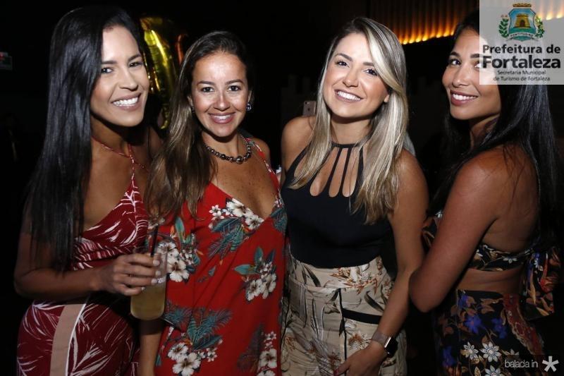 Thais Rodrigues, Renata Lopes, Renata Leal e Patricia Henrique