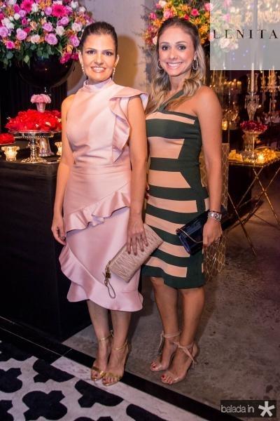 Ana Cintia Pimentel e Isabela Albuquerque