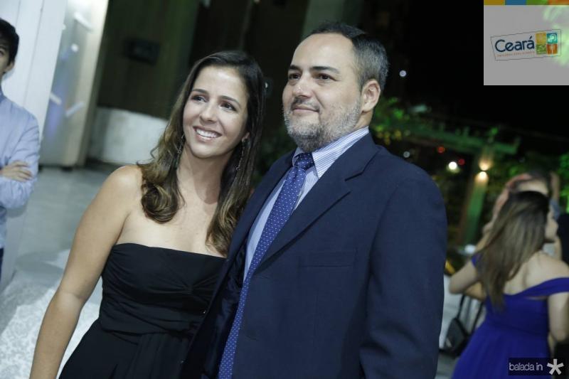 Ticiana e Leonardo Mota