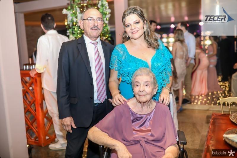 Jorge Mota, Vera Lobo e Lucilia Vieira