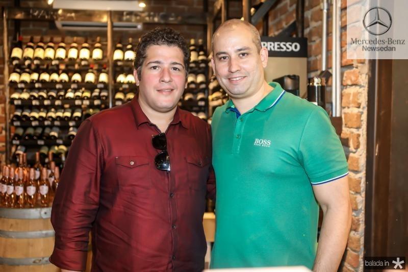 Mosar Gomes e Andre Linheiro