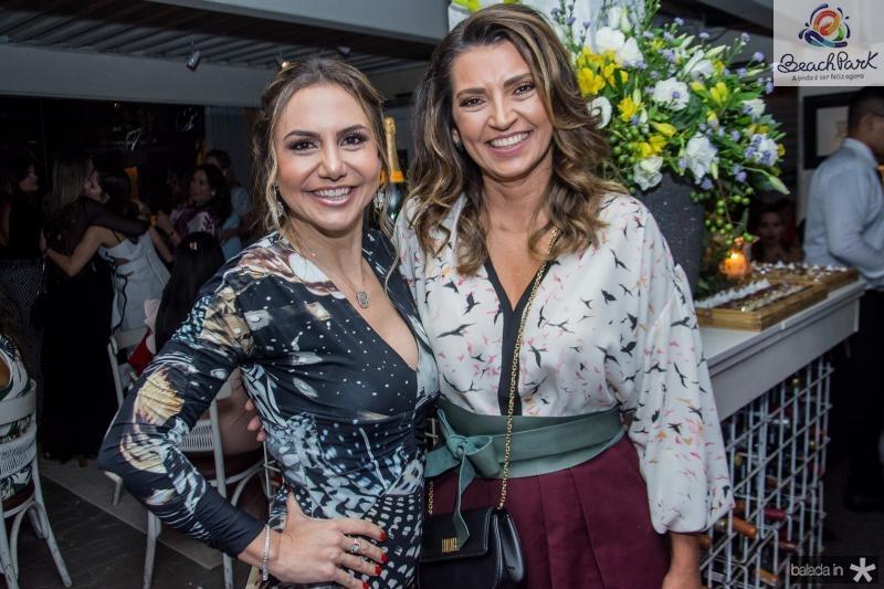 Adriana Queiroz e Marcia Travessoni