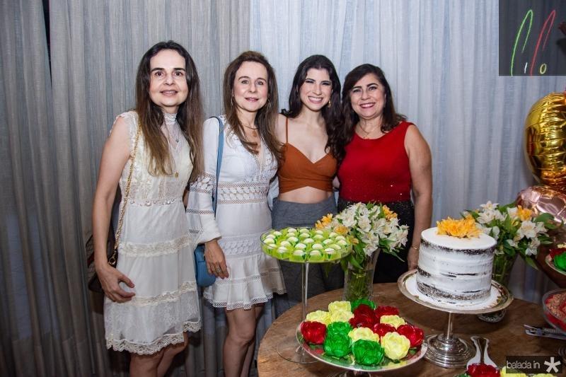 Fabiola Linhares, Alda Linhares, Themis Briand e Lucitania Feijao