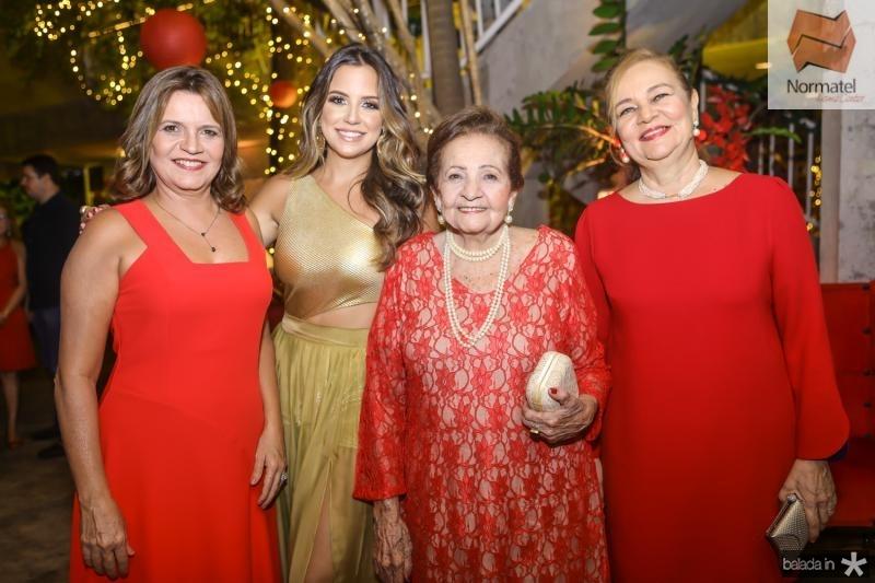 Geni, Fernanda, Glaucia e Cristiane Levy