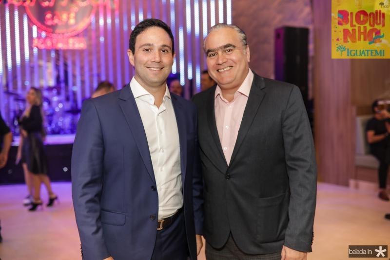 Tiago Asfor e Helio Parente