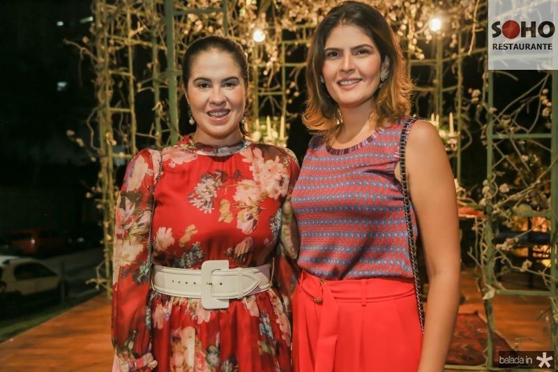 Amanda Viana e Karina Jalles