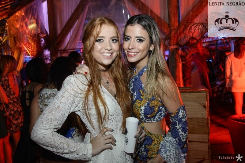 Fernanda Borges e Mikaela Botura