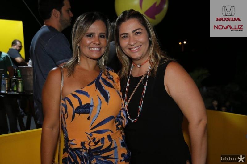 Alessandra Bezerril e Tais Matias