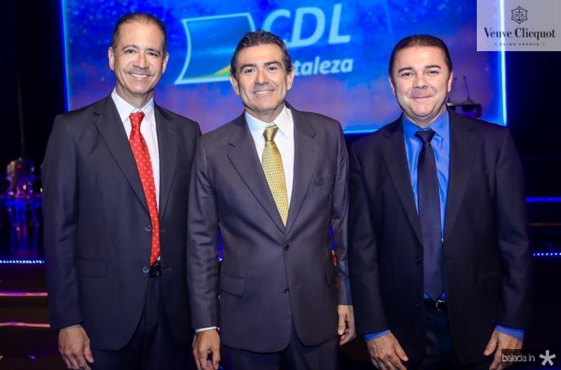 Regis Medeiros, Alexandre Pereira e Elizeu Barros