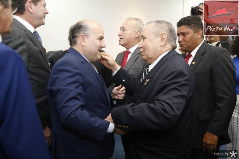 Roberto Claudio e Idalmir Feitosa