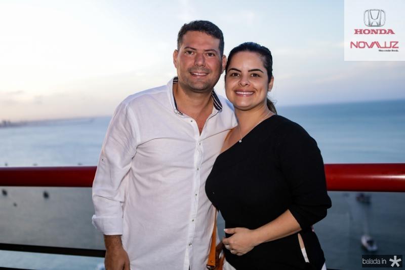 Kercio Fonteles e Renata Ferreira