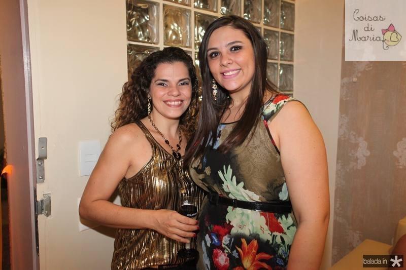 Virginia Souza e Ticiane Bezerra