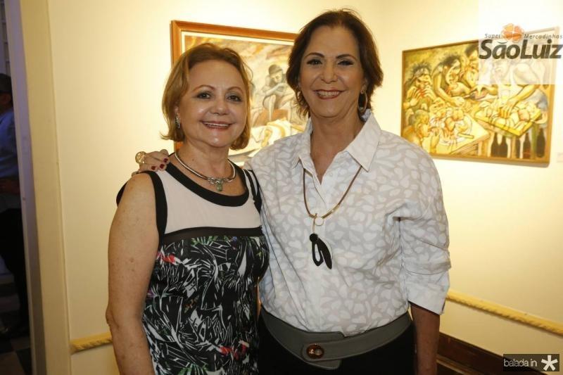 Lurdinha e Olga Leite Barbosa