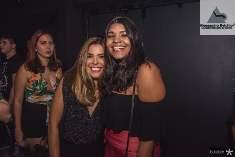 Natalia Medeiros e Taiane Araujo