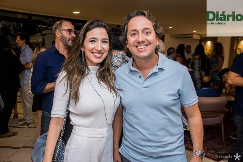 Renata Marinho e Rodrigo Parente