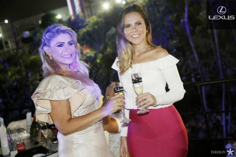 Jonia Dereco e Camila Lemos