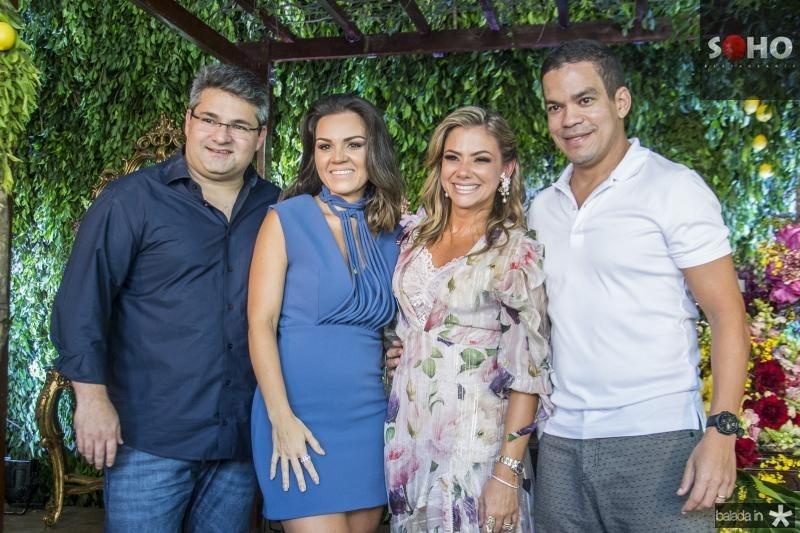 Mario, Katherine, Vanessa e Kaka Queiros