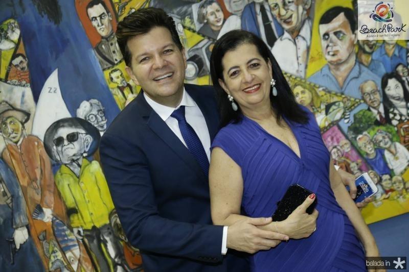 Gustavo e Fatima Serpa