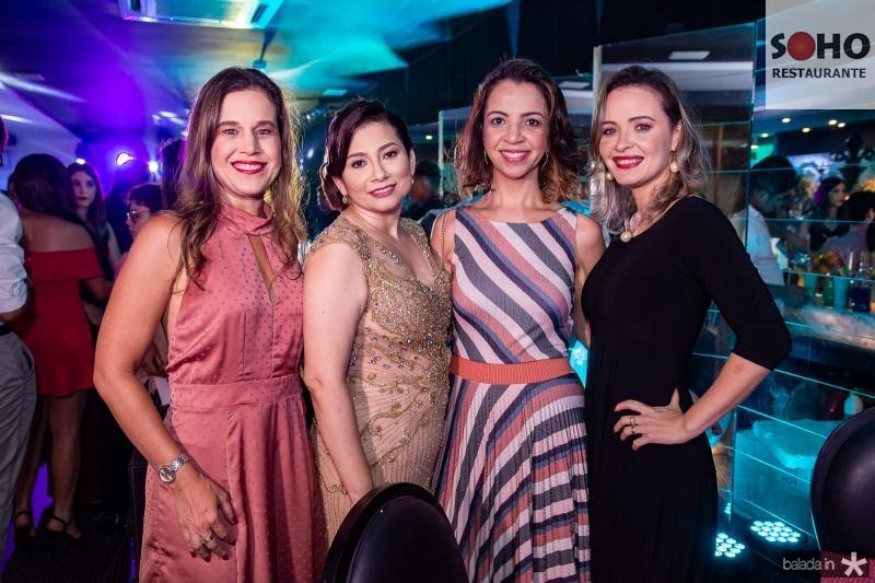 Cibele Campos, Neuma de Assis, Sofia Guerra e Simara Almeida