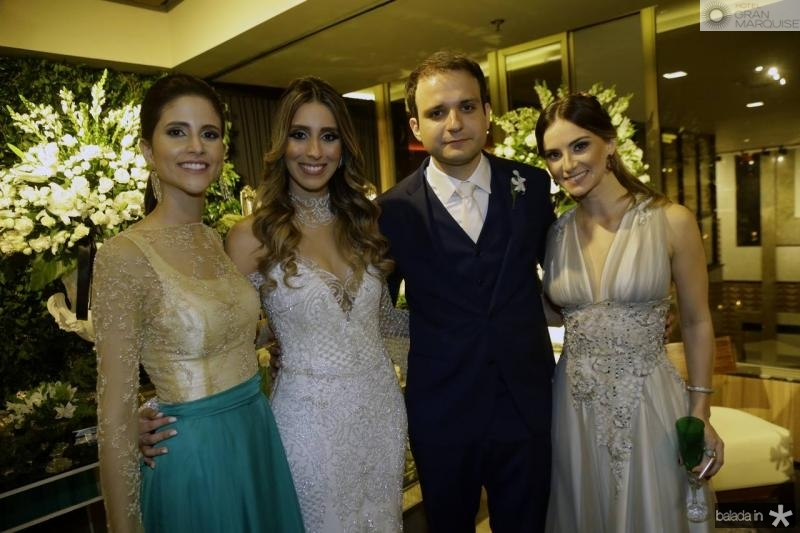 Manoela Bezerra, Nathalia Ximenes, Rafael Lobo e Laime Paz