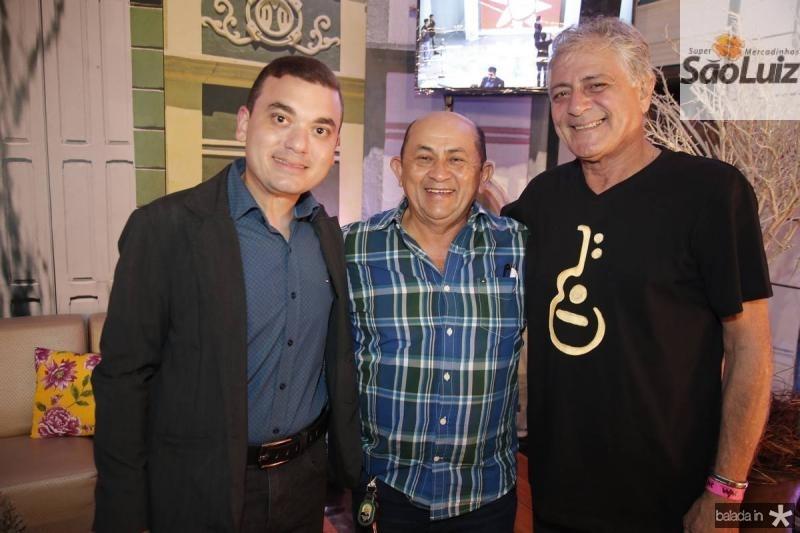 Fernando Lopes, Silvino Neves e Magno Xavier