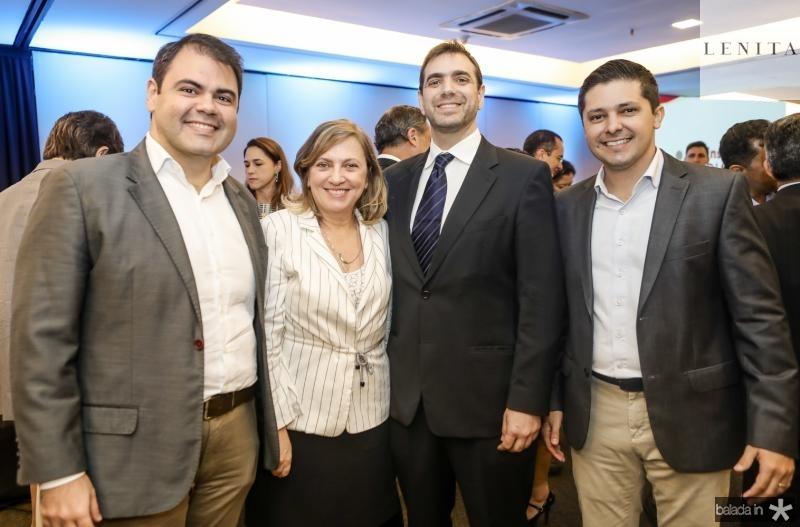 Marcos Aurelio Cabral, Lucia Pinheiro, Paulo Mindlin e Daniel Rios