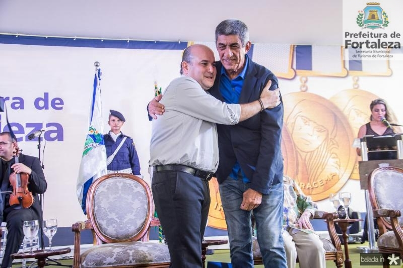 Roberto Claudio e Fagner Lopes