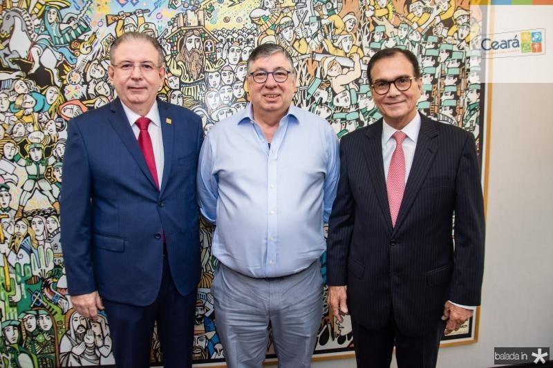 Ricardo Cavalcante, Maia Junior e Beto Studart
