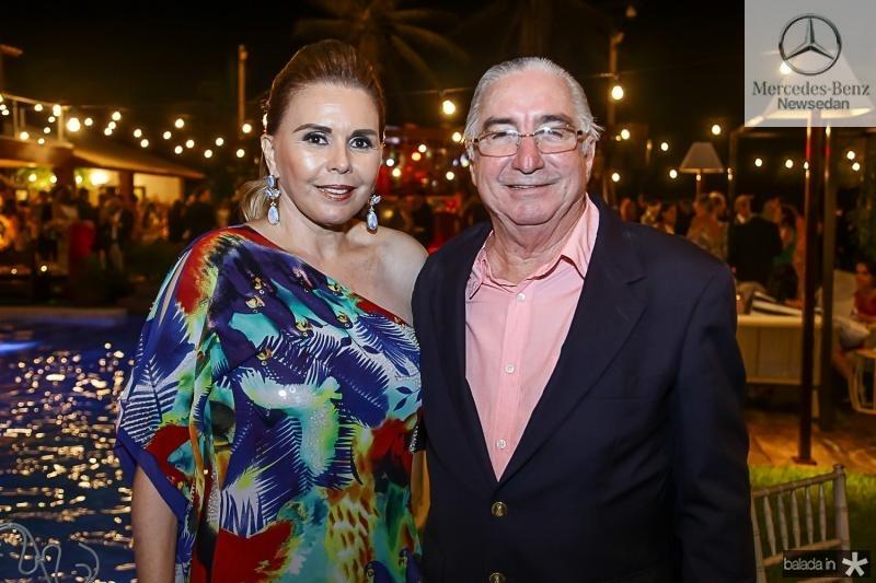 Marilia Studart e Murilo Belchior