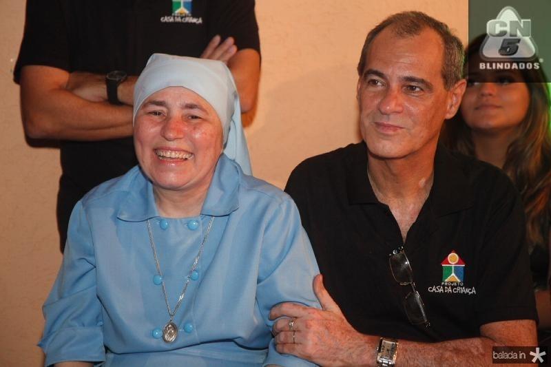 Irmã Conceição e Paulo Pepino