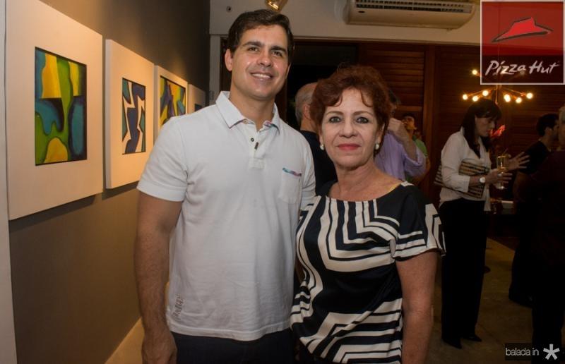 Ronaldo Fiuza e Lilia Quindere