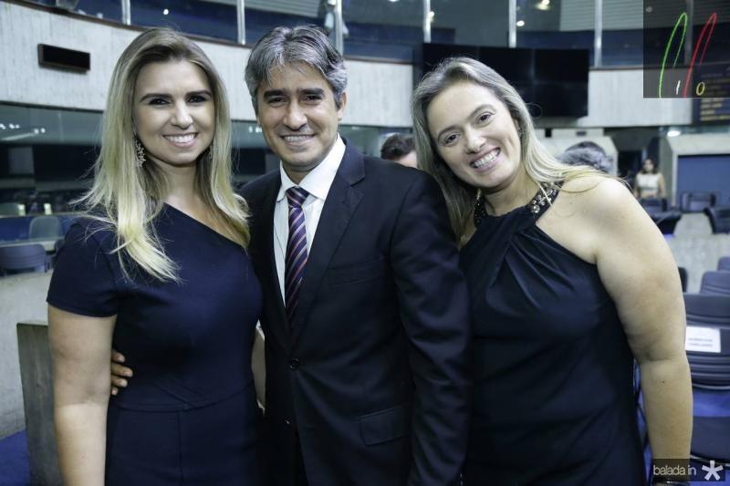Marjorie, Rafael e Seila Benevides