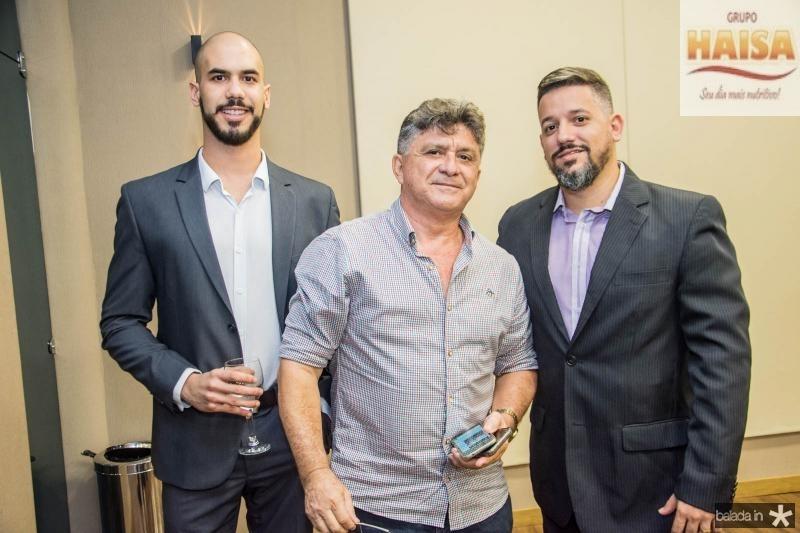 Rafael Caetano, Boto Cruz e Rodolfo Gurgel