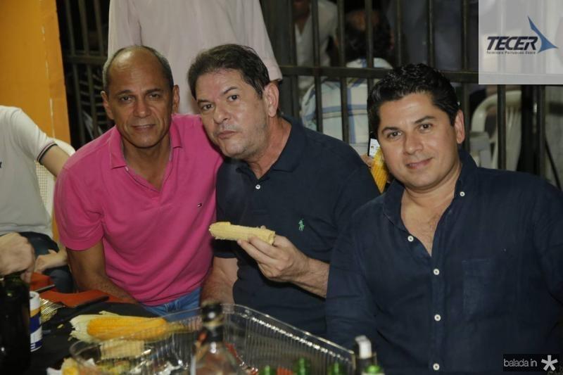 Mano Alencar, Cid Gomes e Pompeu Vasconcelos