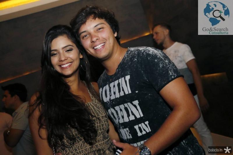 Yasmin Frota e Antonio Neto