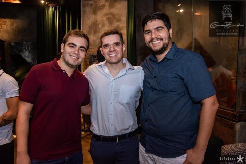 Thomaz Marques, Lucas Mourao e Fred Nobre